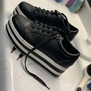 Fashion Nova platform sneakers